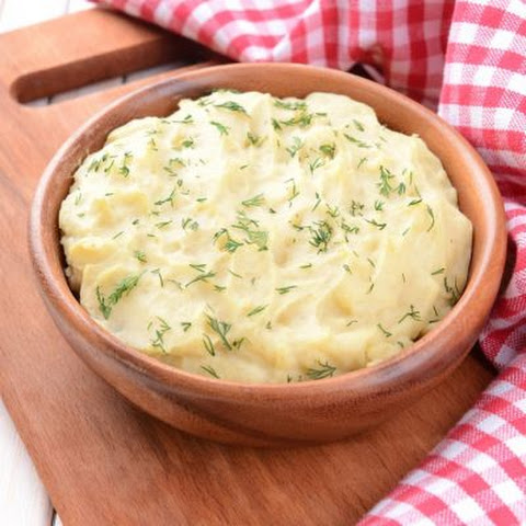 Quick & Easy Garlic Mashed Potatoes