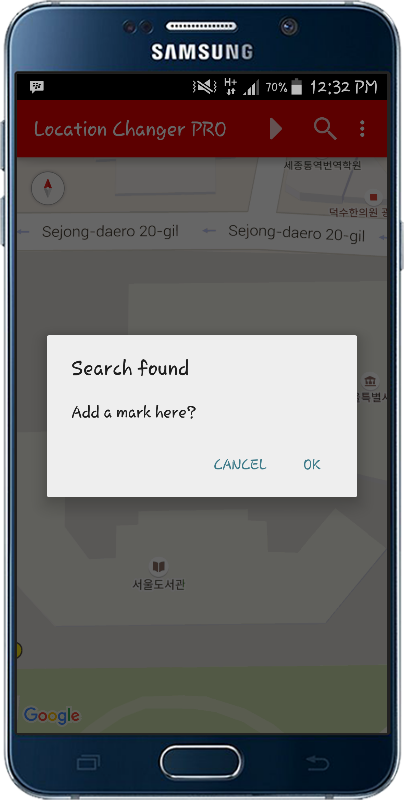 Location Changer PRO Screenshot 2