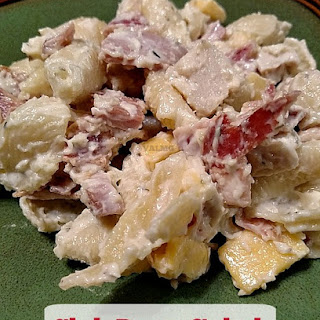 Club Pasta Salad Recipe – A Perfect Meal For Easter Leftovers