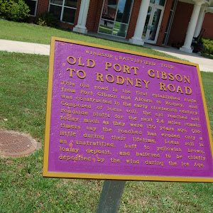 This road is the first established route from Port Gibson and Alcorn to Rodney, and was constructed in the early nineteenth century. Composed of loess soil, the old roadbed and roadside bluffs for ...