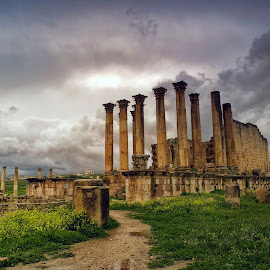 Jerash by Stanley P. - Buildings & Architecture Statues & Monuments