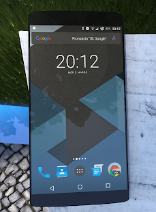 Android M/N Dark theme Layers- screenshot thumbnail