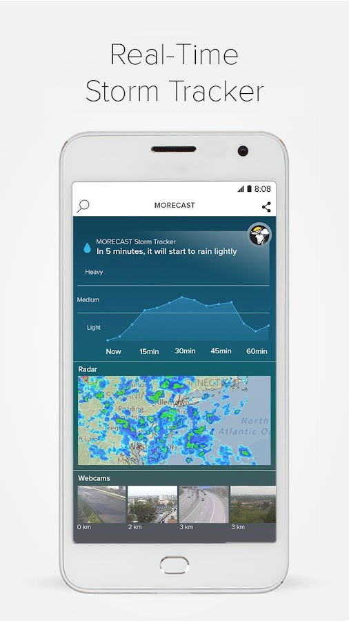 Weather & Radar - Morecast App Screenshot 7