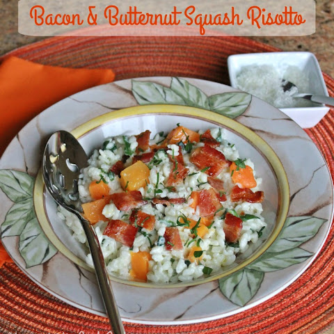 Baked Risotto With Bacon And Butternut Squash