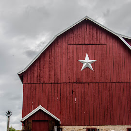 Red Barn by Elizabeth Nelson - Buildings & Architecture Other Exteriors