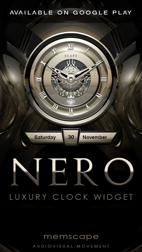 NERO Next Launcher 3D Theme Screenshot 4