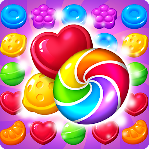 APK Game Lollipop: Sweet Taste Match 3 for BB, BlackBerry