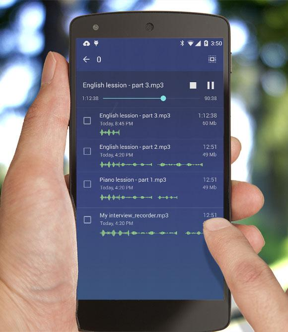 Recordr - Sound Recorder Pro Screenshot 11