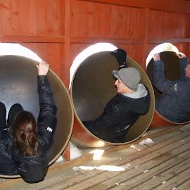 like children by Ester Ayerdi - City,  Street & Park  Amusement Parks ( friends, slides, amusement park, park, amusement, racing, funny, slide, fun, race )