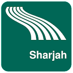 Carte de Sharjah off-line APK