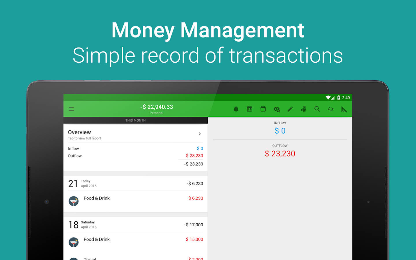 Money Lover: Budget, Expense, Bill, Finance & Save Screenshot 8