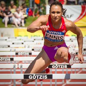 Jessica Ennis by Horizon Photo - Sports & Fitness Other Sports ( hurdles, olympic champion, heptathlon, track, götzis, ennis )