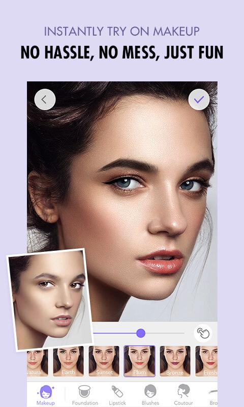 MakeupPlus - Makeup Editor Screenshot 0