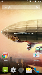 Steampunk Blimp - screenshot
