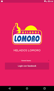 Helados Lomoro - screenshot