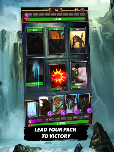 Dragon League - Clash of Mighty Epic Cards Heroes screenshot 10