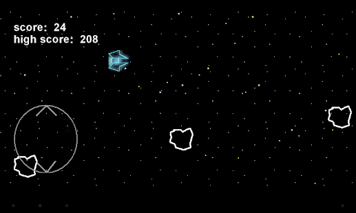 Avoid Asteroids - screenshot