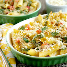 Vegan Baked Penne with Spicy Rose' Sauce (Vegan, Gluten-Free, Dairy ...