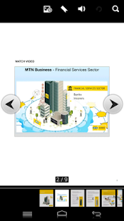 MTN Financial Services Sector - screenshot