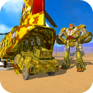 US Army Robot Transport- Army Tank Truck Transport For PC / Windows 7/8/10 / Mac – Free Download