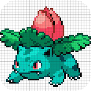Color By Number Sandbox Coloring Poké For PC