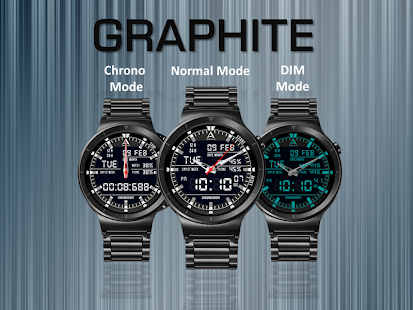 Graphite Watch Face