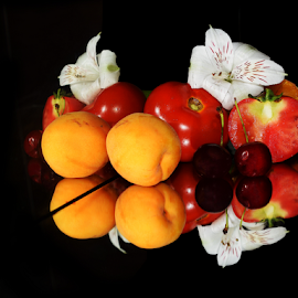 multicolored fruits by LADOCKi Elvira - Food & Drink Fruits & Vegetables