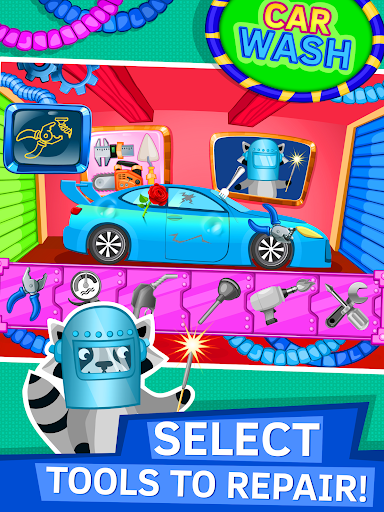 Car Detailing Games for Kids - screenshot
