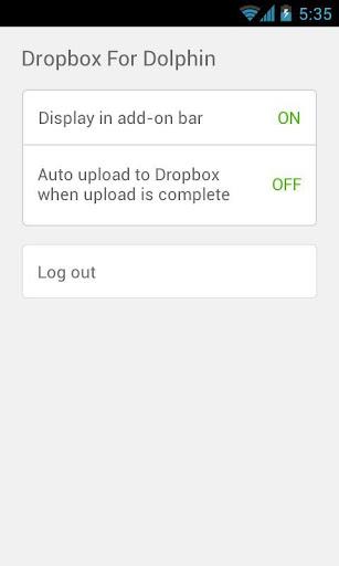 Dropbox for Dolphin screenshot 3
