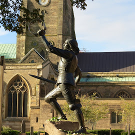 Richard III by Nick Swan - Buildings & Architecture Statues & Monuments ( history, leicester, statue, richard iii, monument )
