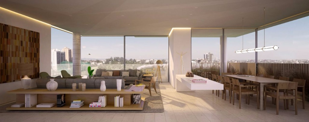 Perspectiva do Living - 315 m²