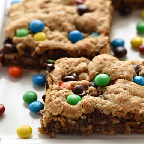 {One-Bowl, Big-Batch} Monster Cookie Bars