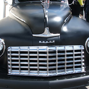 Front of a Classic Dodge by Jacob Woolwine - Transportation Automobiles ( car, colors, jacob )