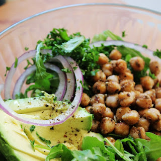 Crispy Chickpea Salad with Fresh Herbs