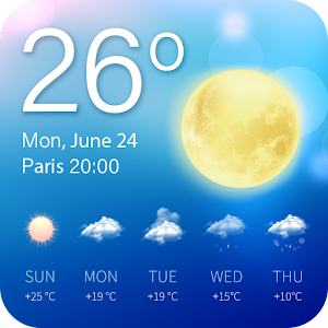 weather - weather forecast New App on Andriod - Use on PC