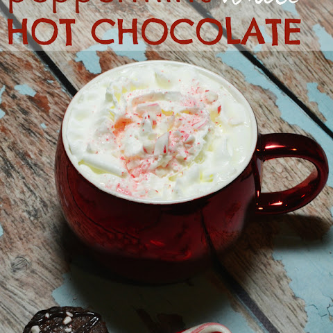 Peppermint White Hot Cocoa