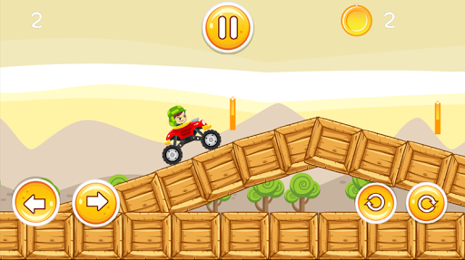 Super chaves hill climb - screenshot