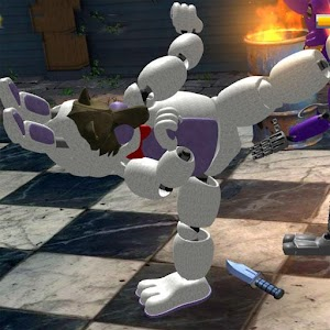 Download Street Night Battle Animatronic Fighter for PC