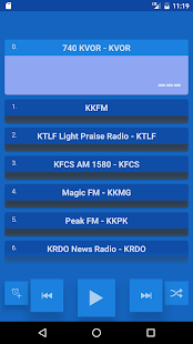 Colorado Springs Radio Station - screenshot