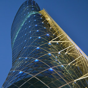 At Abu Dhabi by Mica Parada Larrosa - Buildings & Architecture Architectural Detail ( wavy, detail, building, undulated, architectural, abu dhabi, architecture )