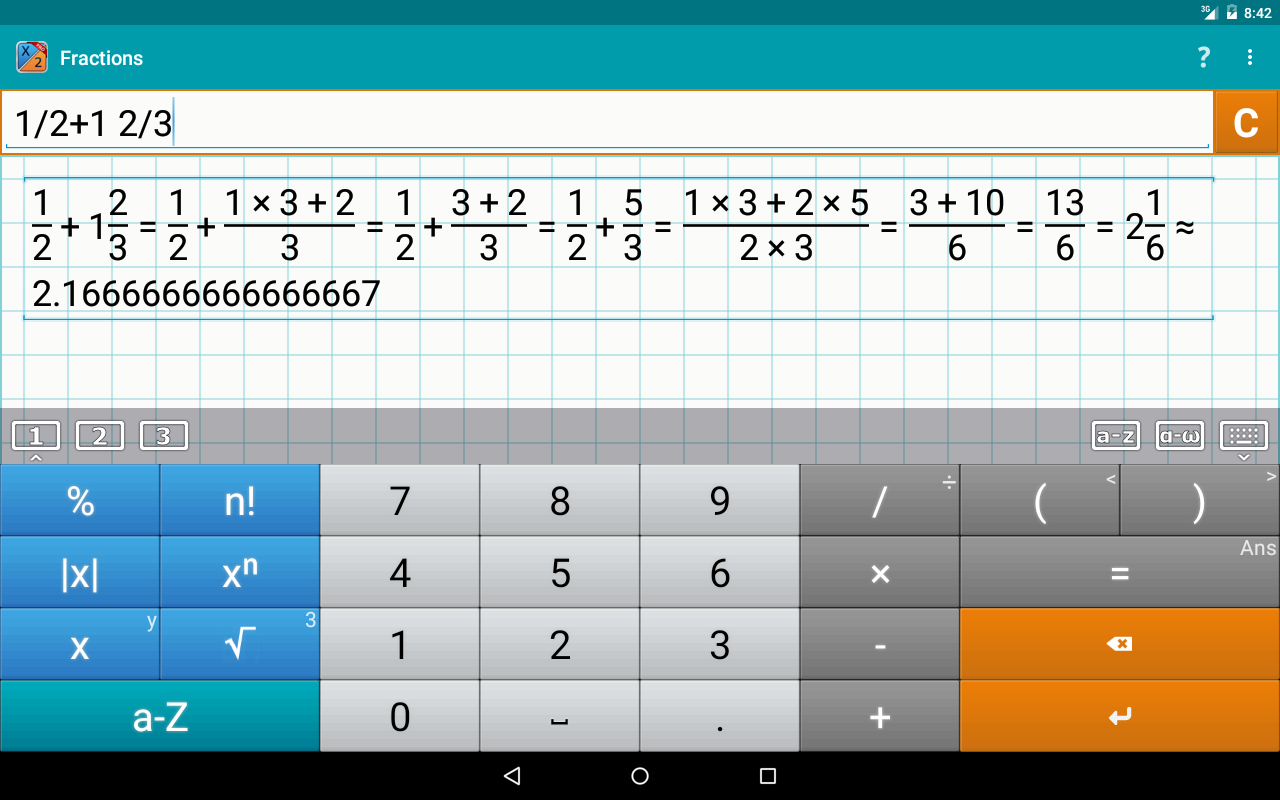 Fraction Calculator + Math PRO Screenshot 8