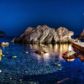 Dubrovnik by Jan Helge - Landscapes Caves & Formations ( dubrovnik, croatia, kings landing, game of thrones, nightscape )