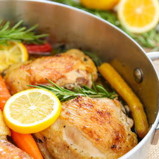 Rosemary Lemon Garlic Chicken Thighs Recipes