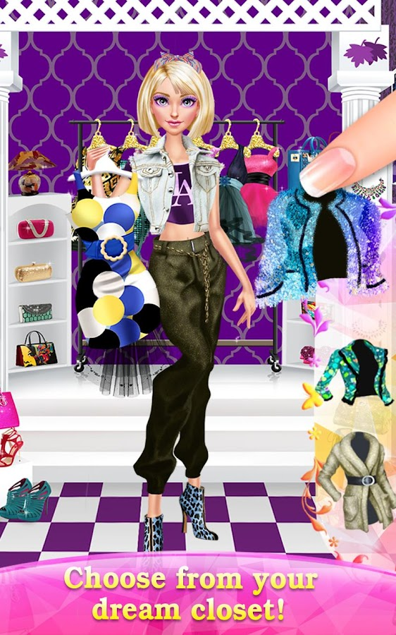 Glam Doll Salon Chic Fashion Screenshot