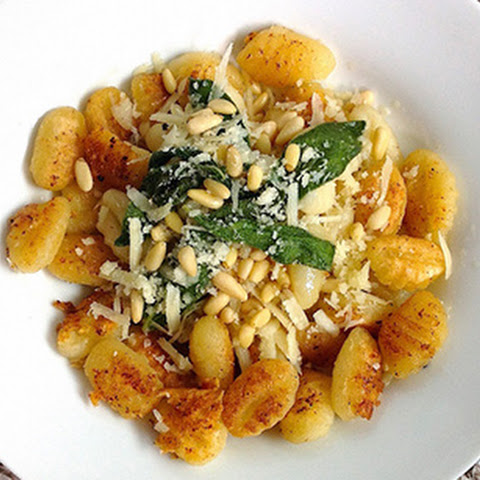 Fried Gnocchi with Brown Butter Sage Sauce