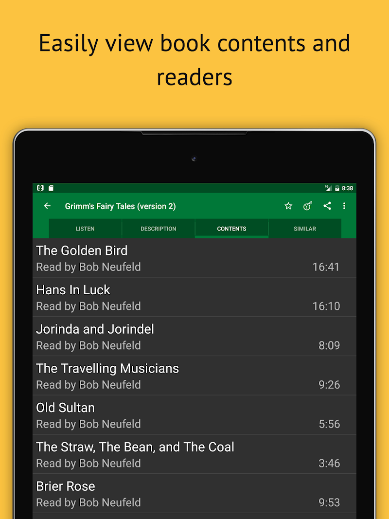 LibriVox Audio Books Supporter Screenshot 13