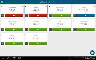 Screenshot of Multi Timer StopWatch