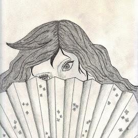 Peek-a-boo.. by Tonya Barton - Drawing All Drawing