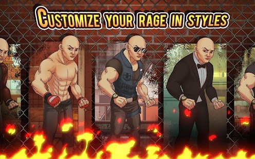 Game Fist of Rage: 2D Battle Platformer apk for kindle fire