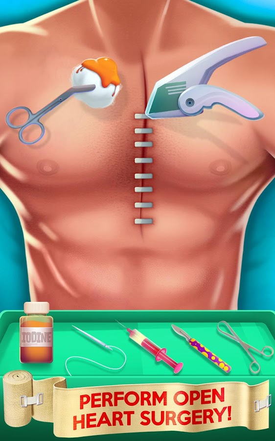 ER Surgery Simulator Screenshot 1